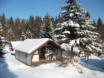 Auch im Winter ist ein Urlaub im Feriendorf ein Erlebnis.